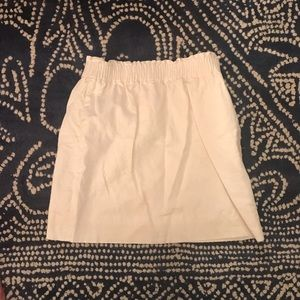 Ivory J.Crew Factory City skirt